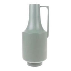 Hk living :: wazon ceramiczny z uchwytem miętowy