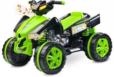 Toyz raptor zielony quad dla dziecka