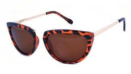 Okulary damskie polaryzacyjne pol-55a kocie oczy
