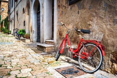Fototapeta rower miejski 2501