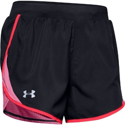 Spodenki damskie under armour fly by 2.0 short - czarny