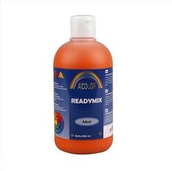 Farba akrylowa matowa 500 ml - pomarańczowy - POM