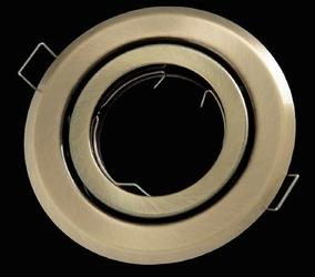 Oprawa okrągła ruchoma, tłoczona - patyna