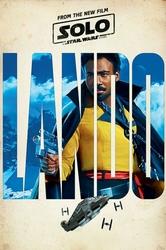 Solo: A Star Wars Story Lando - plakat z filmu