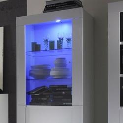 Amaretto oświetlenie halogenowe niebieskie do witryny
