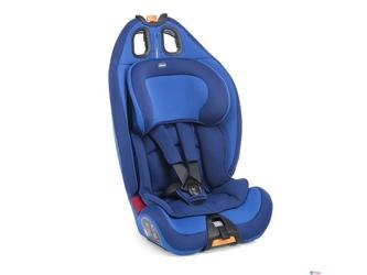 Chicco gro-up 123 power blue fotelik 9-36 kg + organizer