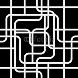 Obraz na płótnie canvas czteroczęściowy tetraptyk bezszwowe rury