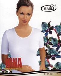 Emili nina plus biała koszulka