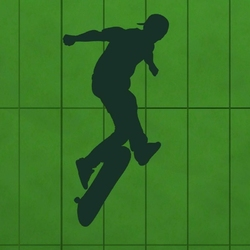 skater 1019 szablon malarski