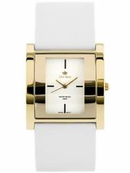 Damski zegarek  GINO ROSSI - DAFNE zg576a - whitegold