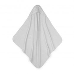 Colorstories - ręcznik bawełniany z kapturem 90×90 szary milkyway grey m