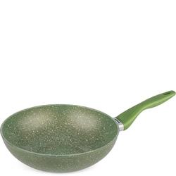Wok aluminiowy 28 cm anima verde barazzoni 85505612849