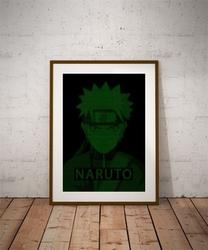 H4ck3d - naruto - plakat wymiar do wyboru: 21x29,7 cm