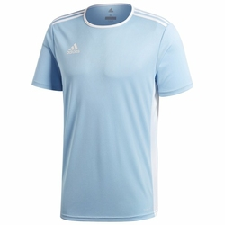 adidas Koszulka Męska Entrada 18 CD8414 - Błękitny