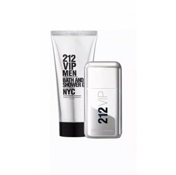 Set carolina herrera 212 vip m edt 50ml + sg 75ml