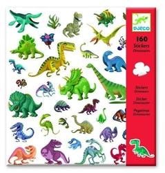 Zestaw pojedynczych naklejek - dinozaury