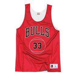 Koszulka dwustornna Mitchell  Ness NBA Scottie Pippen Chicago Bulls Tank top - BA85AH - Scottie Pippen