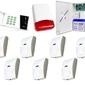 Zestaw alarmowy satel ca-10 led, 7 czujek, sygnalizator zewnętrzny - szybka dostawa lub możliwość odbioru w 39 miastach