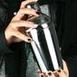 shaker trzyczęściowy ze stali nierdzewnej 0,5 litra