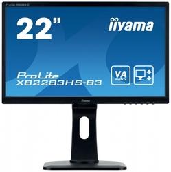 Iiyama monitor 22 xb2283hs-b3 va,hdmi,dp,pivot,2x1w