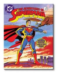 Superman premiere issue - obraz na płótnie
