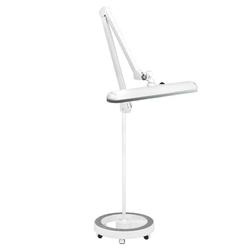 Lampa warsztatowa led elegante  801-s ze statywem standard white