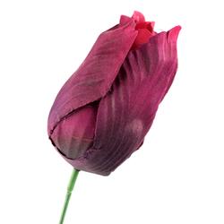 Tulipan wyrobowy 8 cm - fioletowy ciemny - fioletowy ciemny