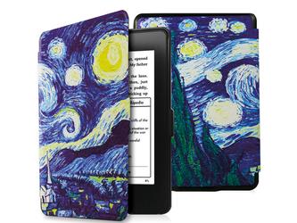 Etui Alogy Smart Case do Kindle Paperwhite 123 Gwiaździsta noc - Gwiaździsta noc van Gogh