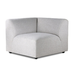 Hkliving sofa jax: element narożny lewy, jasnoszary mzm4800
