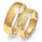 Obrączki ślubne złoty skorpion – wzór au-oe225