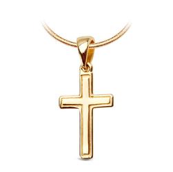 Staviori Krzyżyk klasyczny z Żółtego Złota 0,333. Wysokość 23 mm.
