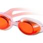 Fashy okulary pływackie dolphin 4159 pomarańczowe