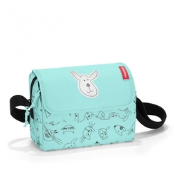 Torba everydaybag kids cats and dogs mint