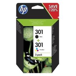HP oryginalny ink N9J72AE, blackcolor, 190165s, No.301, HP Deskjet 1510, 3055A, Officejet 2622