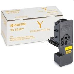 Toner oryginalny kyocera tk-5230y 1t02r9anl0 żółty - darmowa dostawa w 24h