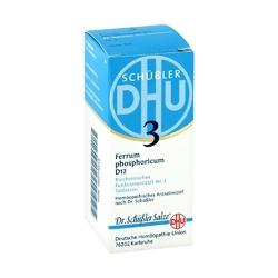 Biochemie dhu nr 3 fosforan żelaza tabletki d12
