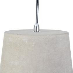 Lampa wisząca dekoracyjna z betonu broni maytoni loft t440-pl-01-gr