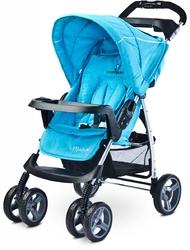 Caretero Monaco Blue Wózek Składany na Płasko + Folia