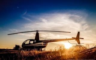 Lot helikopterem dla dwojga - bielsko-biała - 60 minut