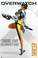 Overwatch Tracer - plakat