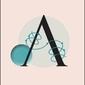 Litera a - plakat wymiar do wyboru: 59,4x84,1 cm