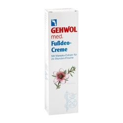 Gehwol med. dezodorant do stóp w kremie