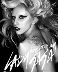 Lady Gaga Born This Way - plakat