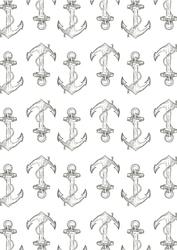 Kotwice - plakat Wymiar do wyboru: 21x29,7 cm