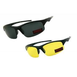Okulary przeciwsłoneczne z wymiennymi soczewkami draco drs-54c2