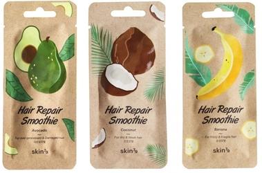 Skin79 zestaw 3 regenerujących masek do włosów hair repair avocado, banana, coconut 3x20ml