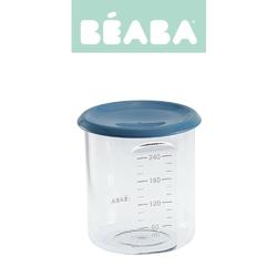 Słoiczek beaba z hermetycznym zamknięciem 240 ml - blue