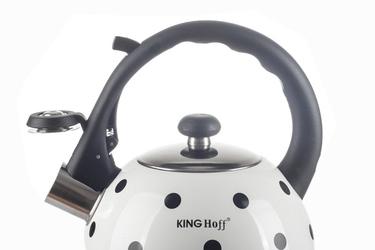 Kinghoff czajnik z gwizdkiem 2.6 l indukcja