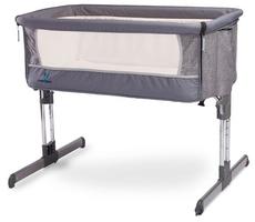 Caretero sleep2gether graphite łóżeczko dostawne + puzzle