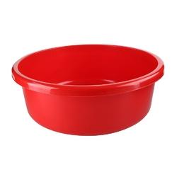 Miska na pranie  łazienkowa plastikowa bentom classic czerwony 20 l